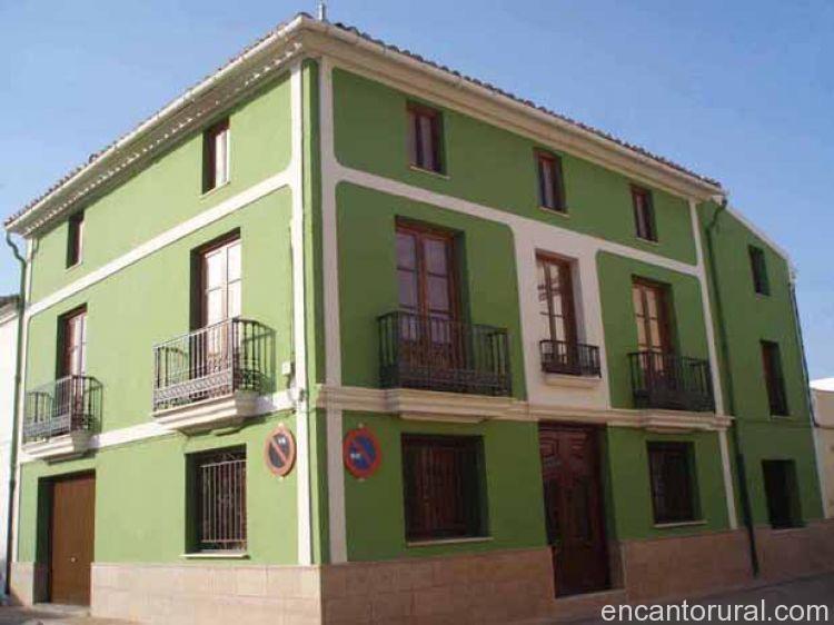 Balcones de oleana casa rural en valencia - Casas de pueblo en valencia ...