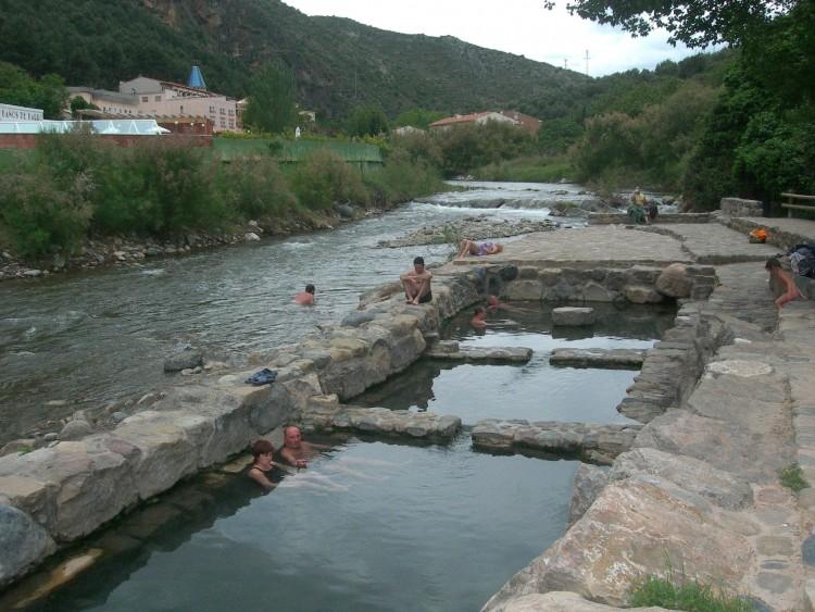 Foto pozas termales de arnedillo de inter s tur stico en for Aguas termales naturales madrid