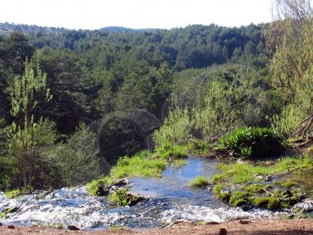 Foto nacimiento del r o cuervo r os en cuenca - Casas rurales nacimiento rio cuervo ...
